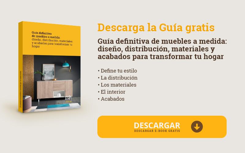 Guía definitiva de muebles a medida: diseño, distribución, materiales y acabados para transformar tu hogar
