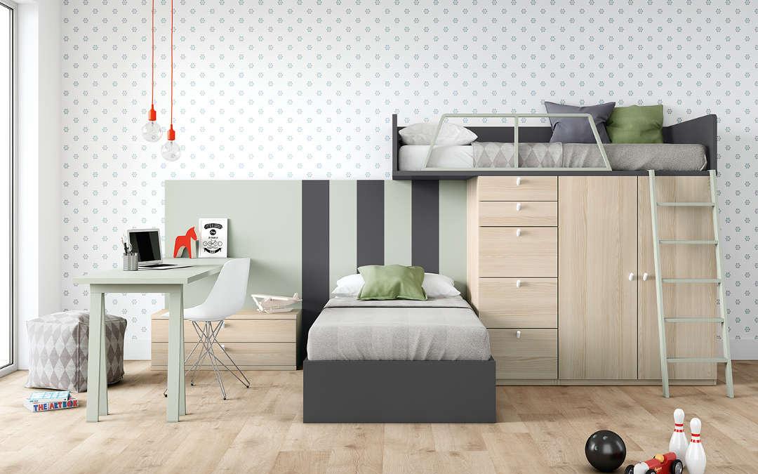 Camas dormitorio juvenil