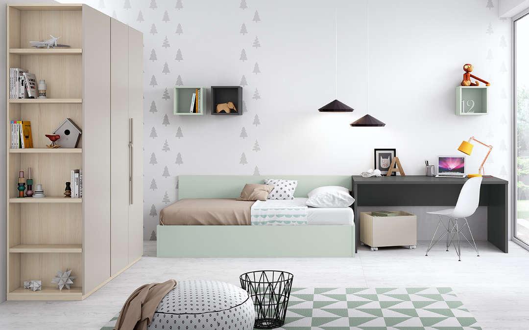 Dormitorios juveniles a medida: Cómo optimizar el espacio